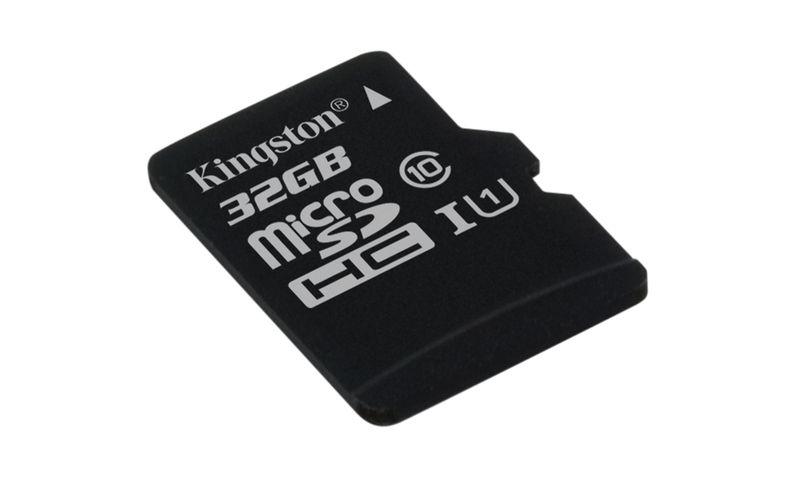Kokiska Paměťová karta Kingston microSDHC CL10 UHS-I 32GB, 80R P56990