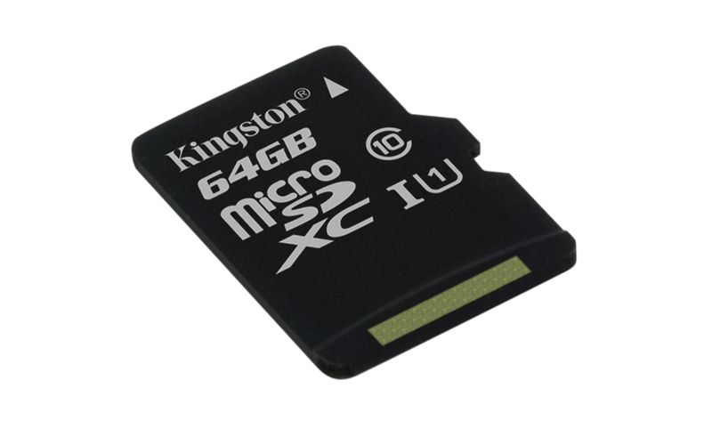 Paměťová karta Kingston microSDXC CL10 UHS-I 64GB, 80R