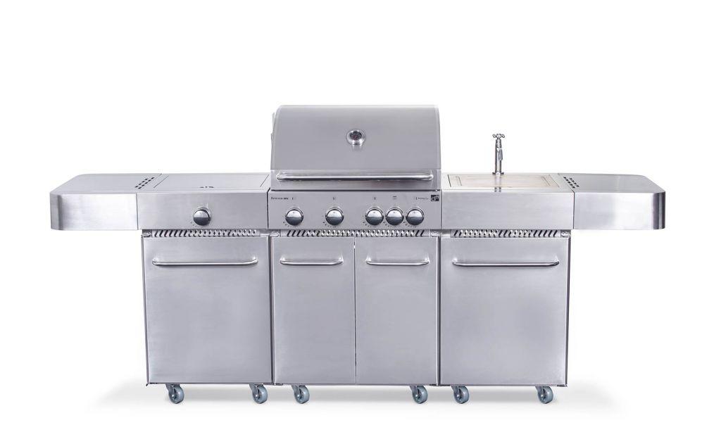 G21 Arizona 57641 Plynový gril, BBQ kuchyně Premium Line 6 hořáků + zdarma redukční ventil