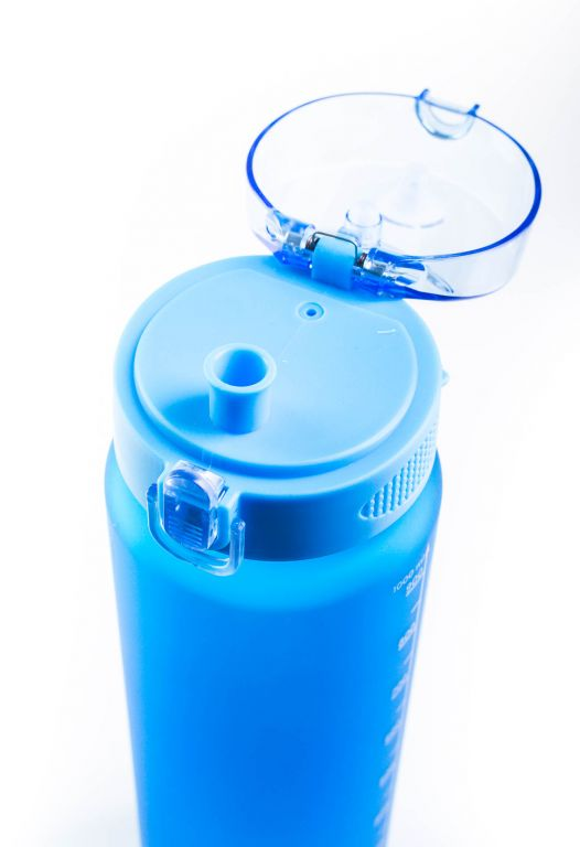Láhev G21 na pití, 1000 ml, modrá-zmrzlá