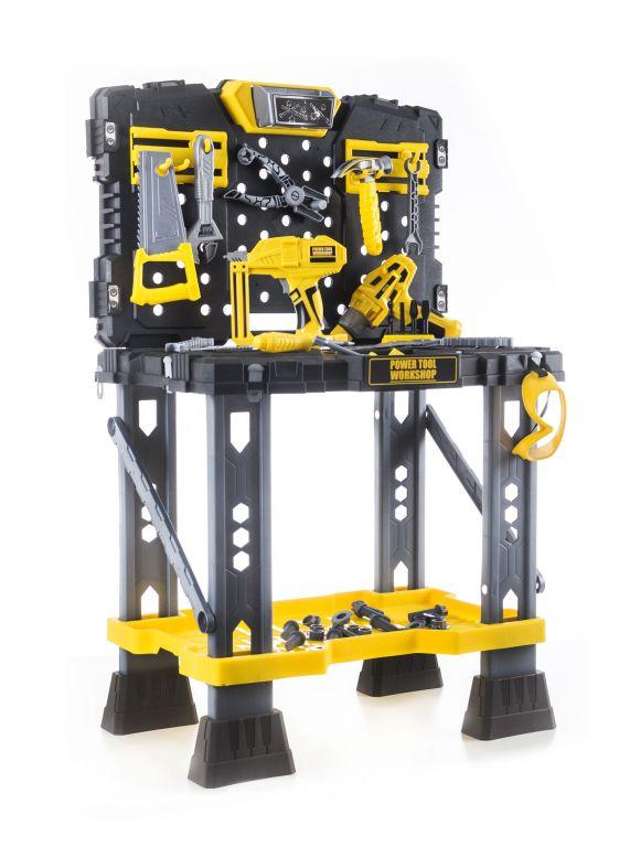 G21 Plastová hračka pracovní stůl s nářadím