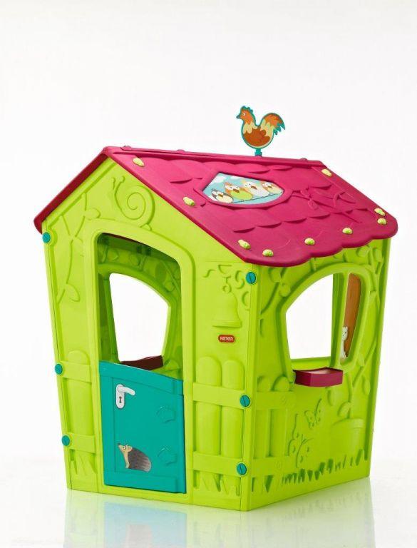 Keter Zahradní dětský domek – 110 x 146 x 110 cm, zelený