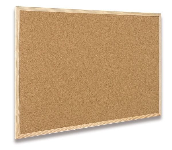 Nástěnka dřevěná Cork Board Eco – 60 x 80 cm
