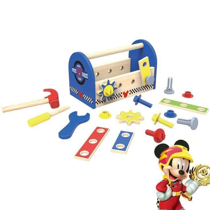 Disney dřevěné nářadí v boxu - Mickey Mouse