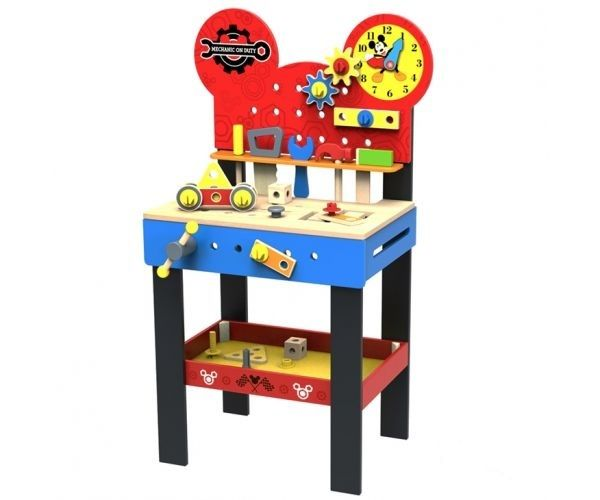 Dětský dřevěný stůl pro kutily Disney – 45 x 30 x 80 cm