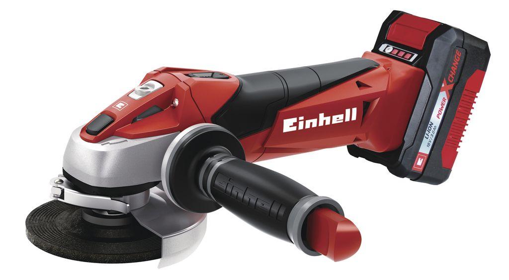 Úhlová bruska Einhell TE-AG 18 Li Kit Expert