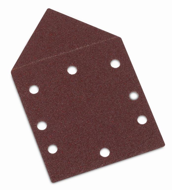 Kreator brusný papír, trojúhelníkový G120, 5 ks