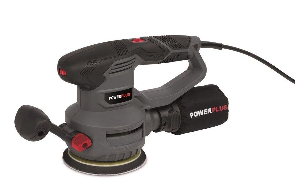Excentrická bruska Powerplus, 450 W