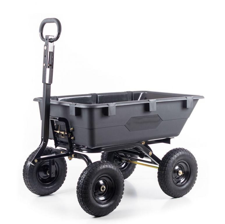Zahradní vozík GA 120 - 69 x 67 x 118 cm