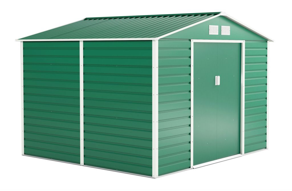 G21 Zahradní domek GAH 706 - 277 x 255 cm, zelený