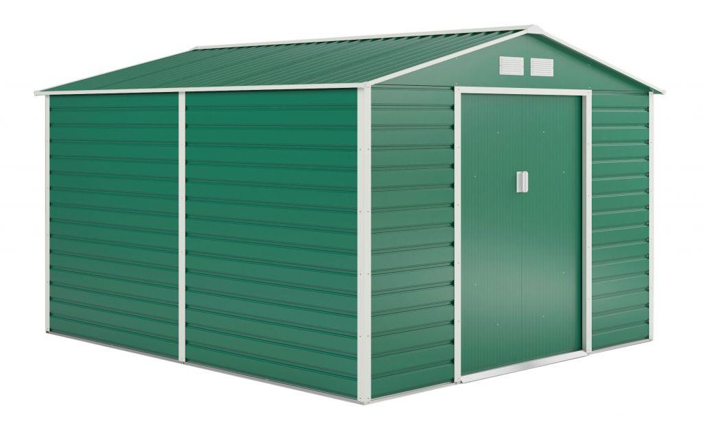 G21 Zahradní domek GAH 884 - 277 x 319 cm, zelený