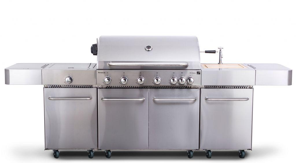 G21 Plynový gril Nevada, BBQ kuchyně, 7 hořáků