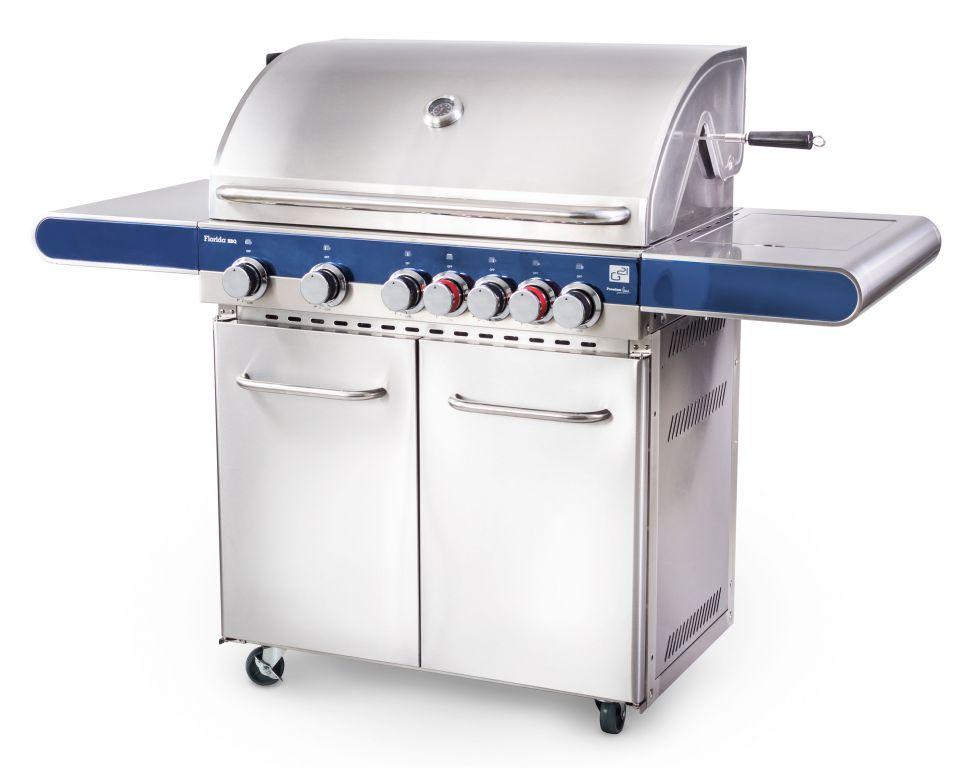G21 plynový gril Florida BBQ - 7 hořáků