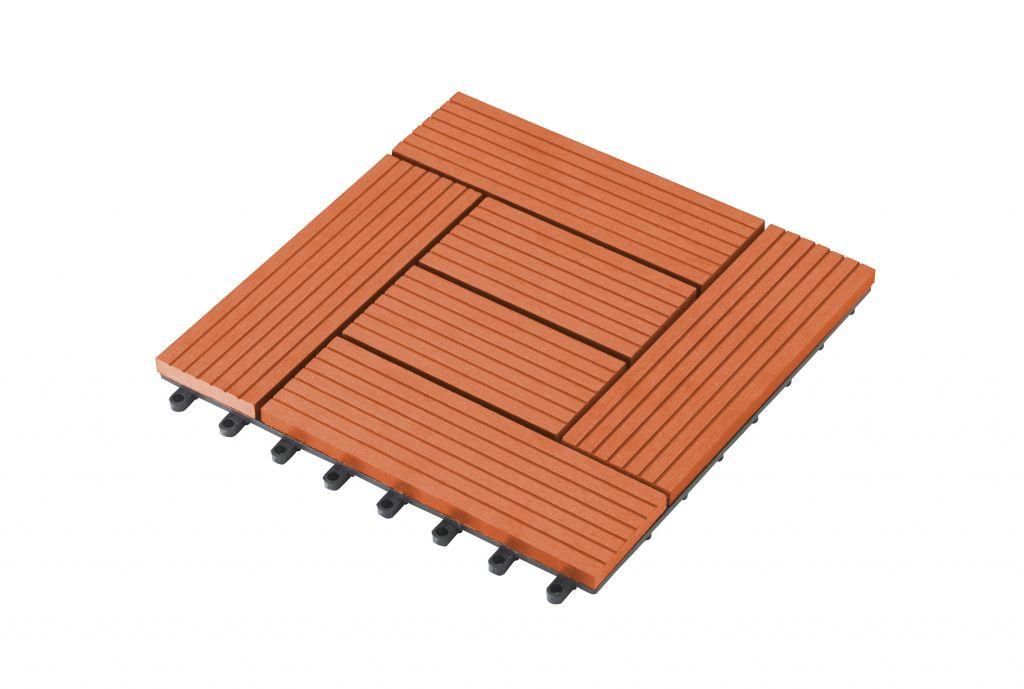G21  WPC dlaždice - 23 x 300 x 300 mm, palmyra třešeň