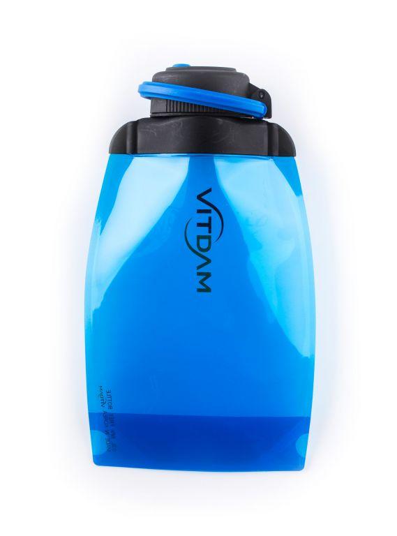 Láhev Vitdam skládací - 500 ml, modrá