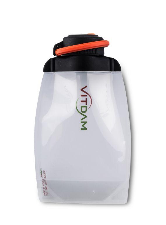 Láhev Vitdam skládací - 500 ml, transparentní