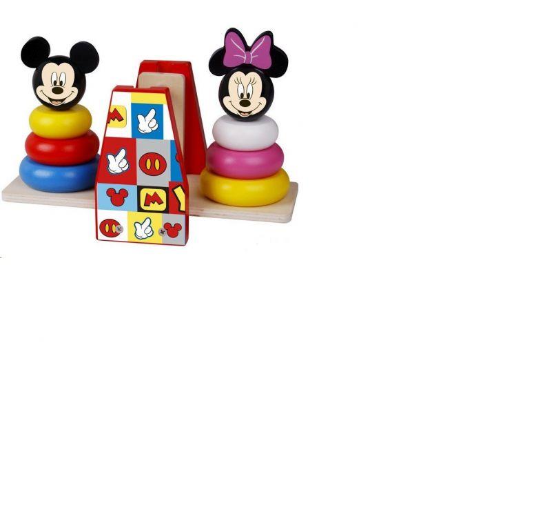 Disney dřevěná balanční hra - Mickey a Minnie
