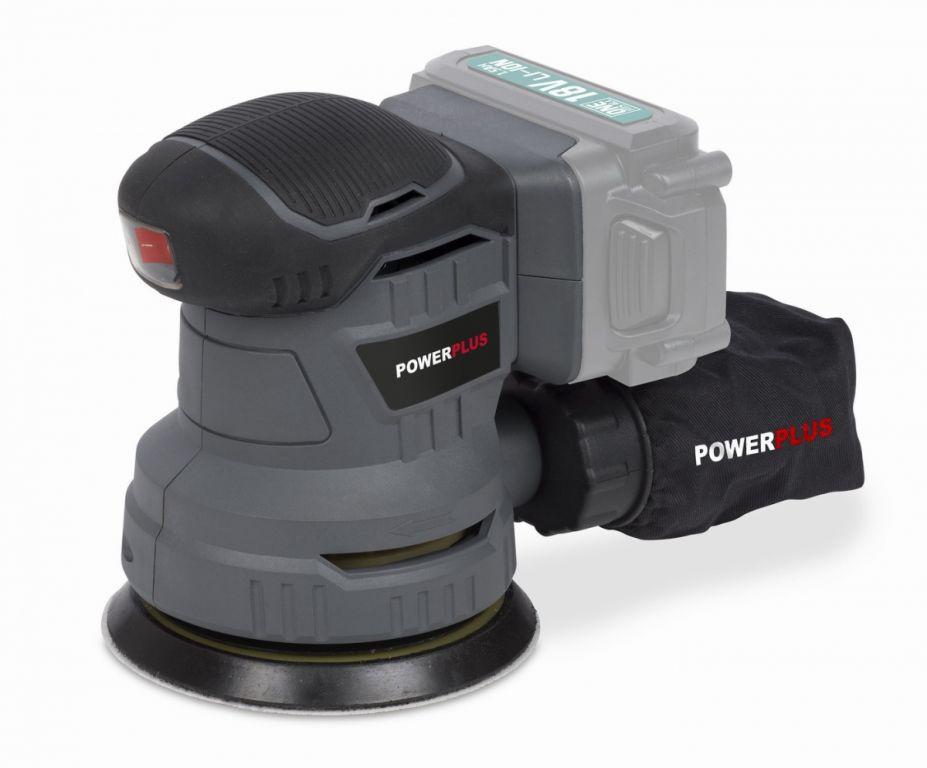 Excentrická bruska Powerplus POWEB4010 18 V bez baterie