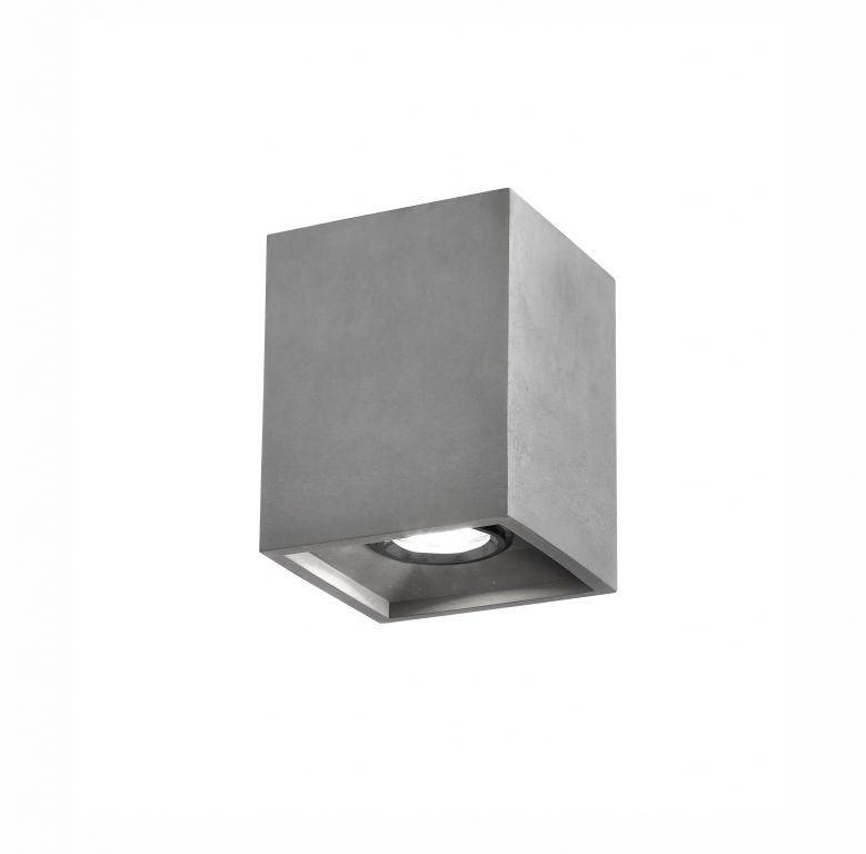 Stropní šedé svítidlo, IP 20