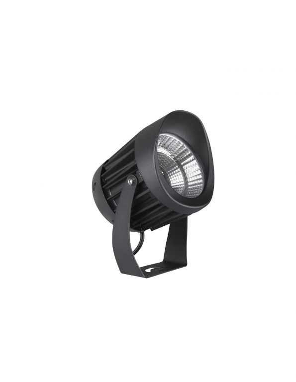 Reflektor Nova Luce šedý, IP 65, 10 W