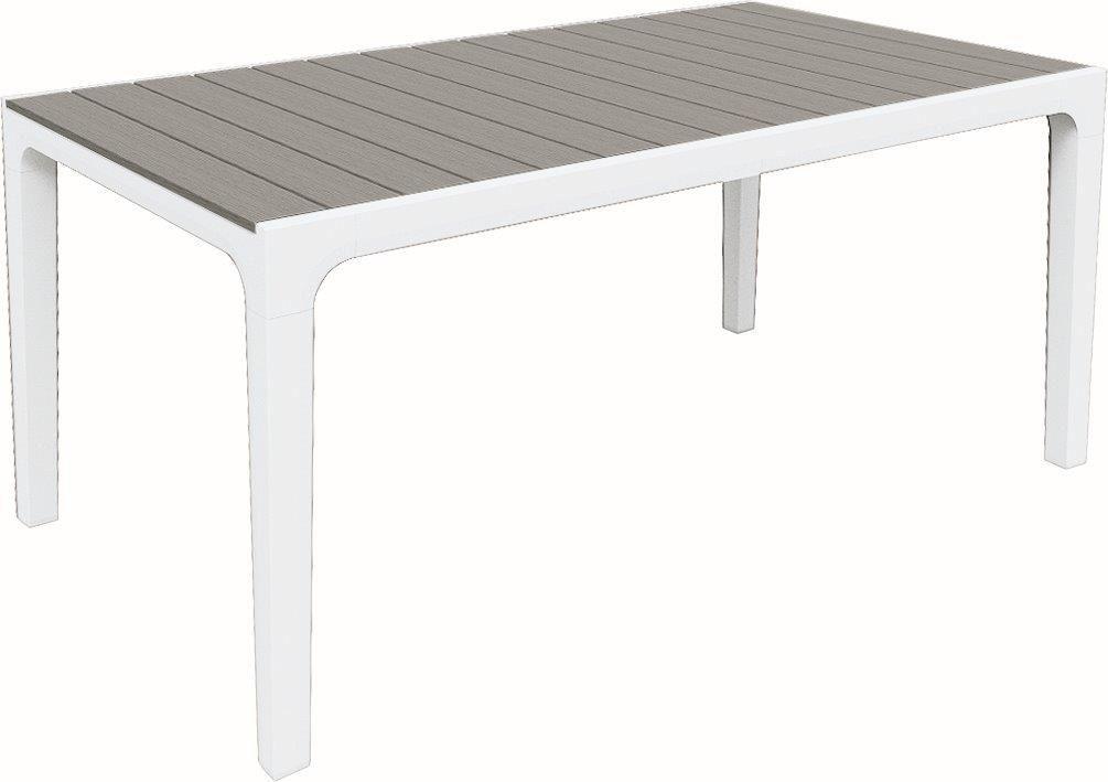 Zahradní stůl Keter Harmony bílý / světle šedý