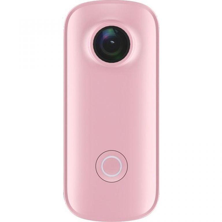 Kompaktní kamera SJCAM C100 - růžová