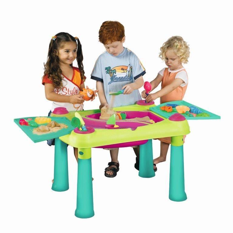 Dětský stolek Keter Creative Fun Table zelený / fialový