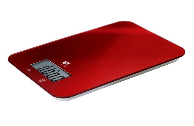 Kuchyňská váha Berlingerhaus digitální 5 kg Burgundy Metallic Line BH-9002