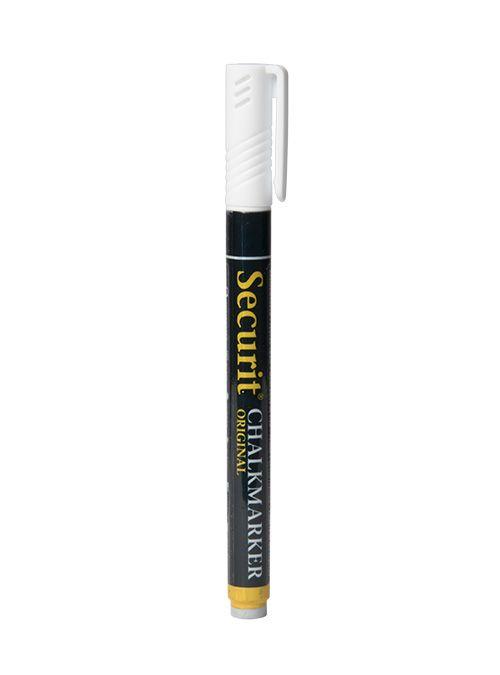 Křídový popisovač Securit šířka hrotu 1-2mm, White