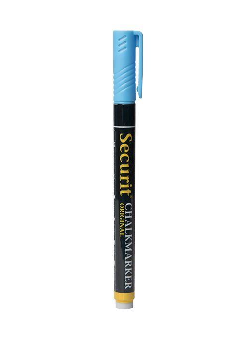 Křídový popisovač Securit šířka hrotu 1-2mm, Blue
