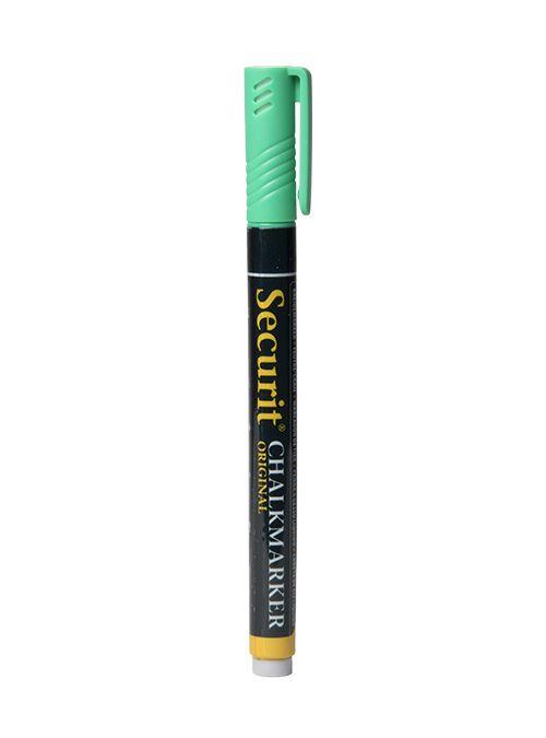 Křídový popisovač Securit  šířka hrotu 1-2mm, Green