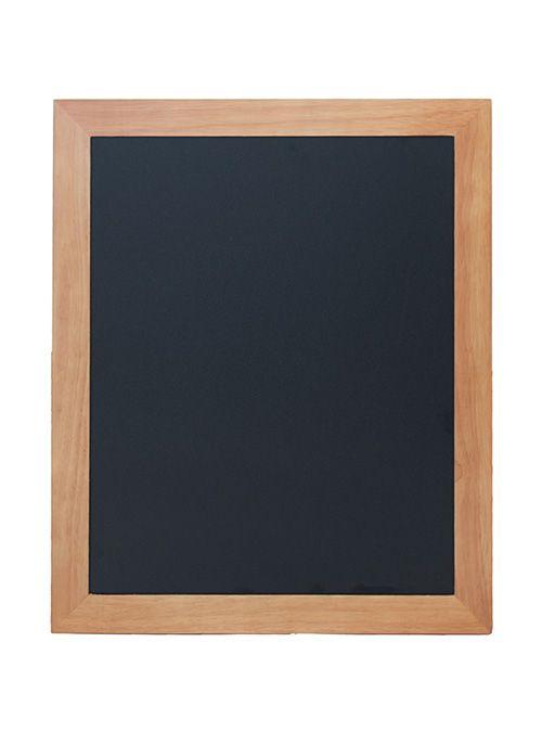 Tabule lakovaná na popis křídou, 50 x 60 cm, dřevěný rám