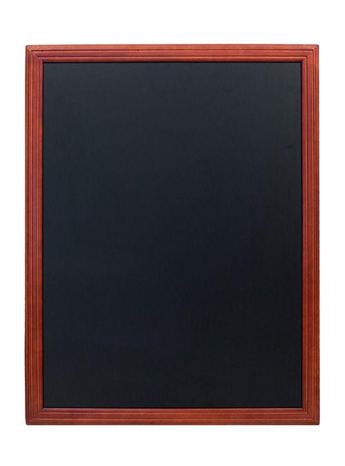 Tabule Securit UNIVERSAL nástěnná na popis křídou 70x90cm, Mahagony, lakovaná