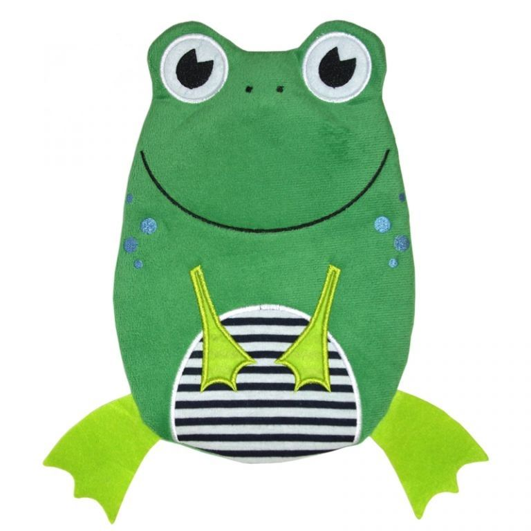 Termofor Hugo Frosch dětský, Eco Junior Comfort - žába