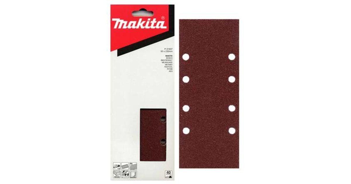 Brusný papír Makita  93x228mm K240, 10ks