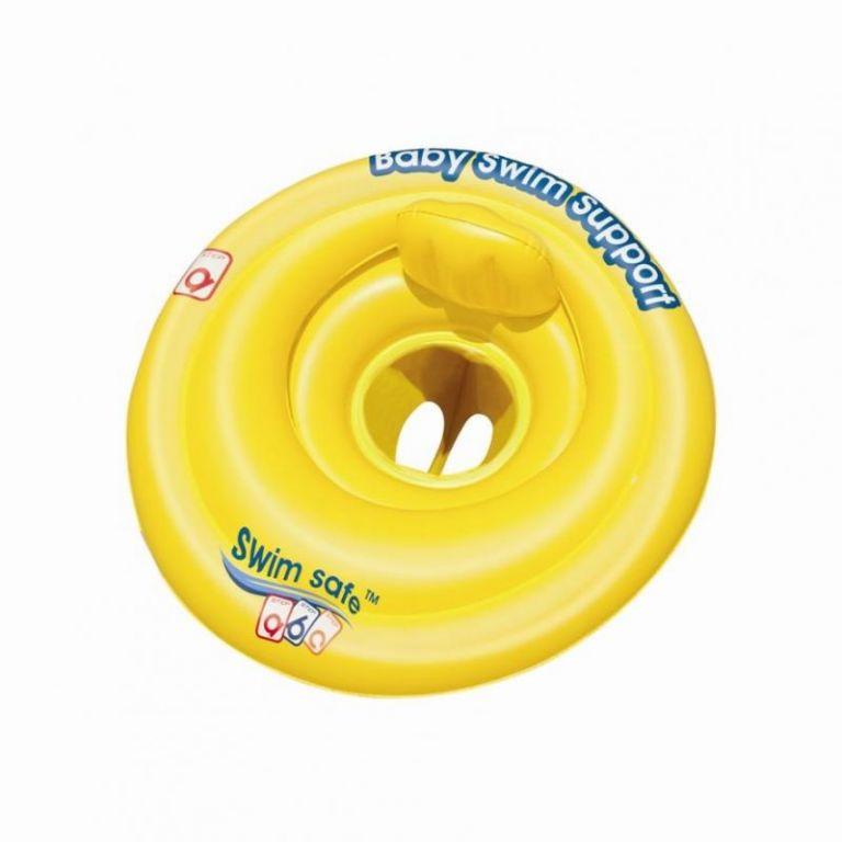 Kruh Bestway nafukovací s opěrkou baby průměr 69cm
