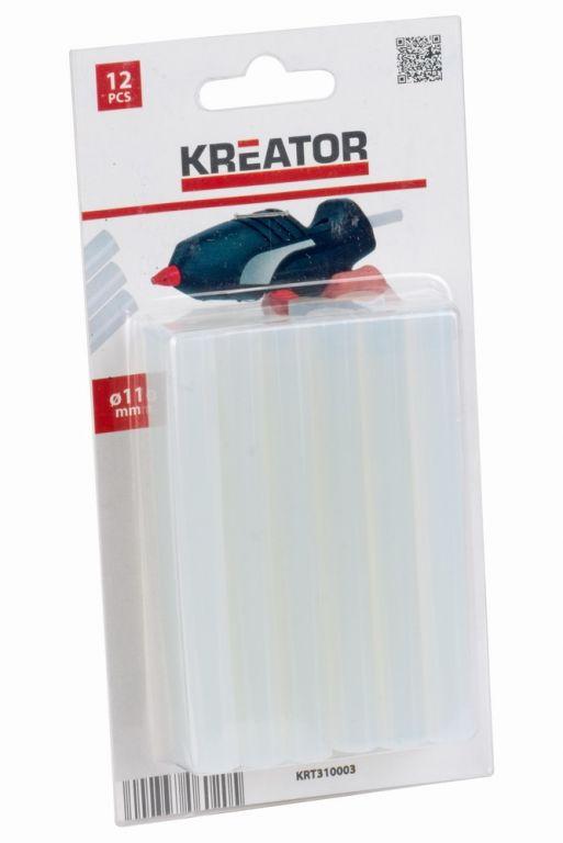 Lepící tyčinky Kreator  11 mm, 12ks
