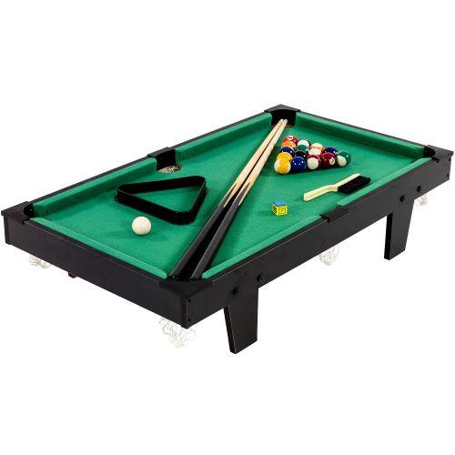 MAX 11760 Mini kulečník pool s příslušenstvím 92 x 52 x 19 cm