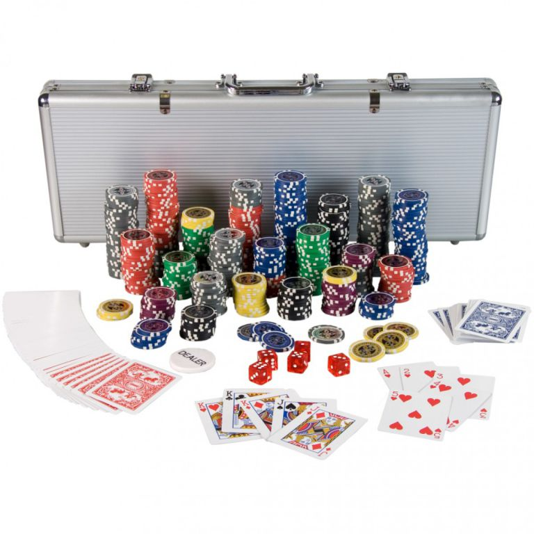 Poker Set – 500 laserových žetonů Ultimate