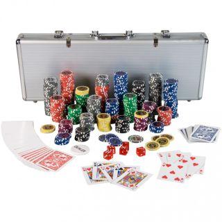 Tuin Ultimate Poker Set - 500 laserových žetonů