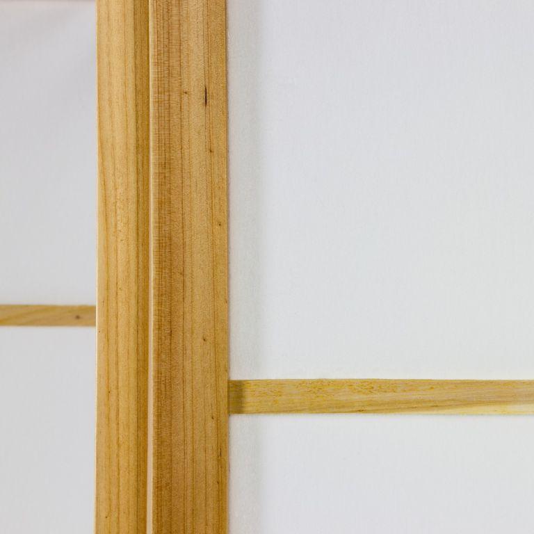 Paraván STILISTA 134 x 156 cm - světle hnědý
