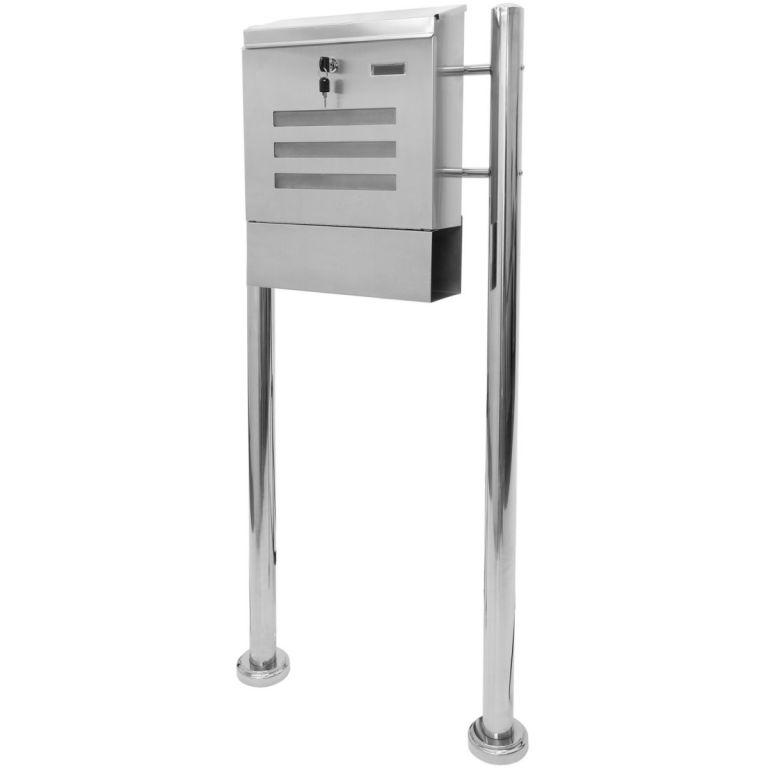 Poštovní schránka nerez 120 cm