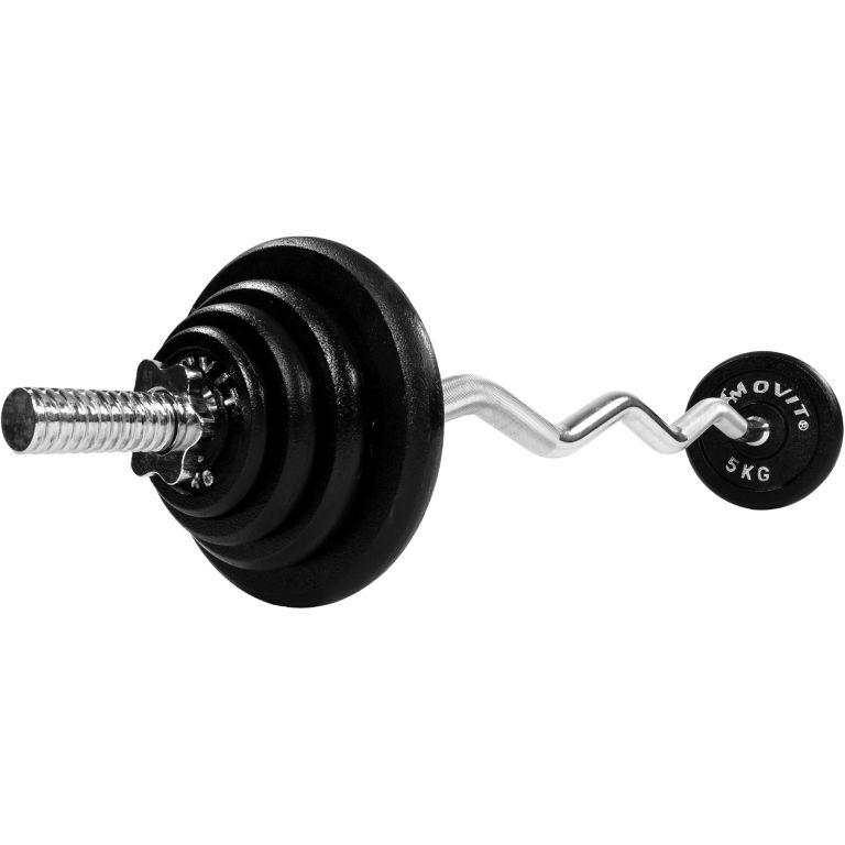 Činkový set Profi 26 kg – činka + závaží