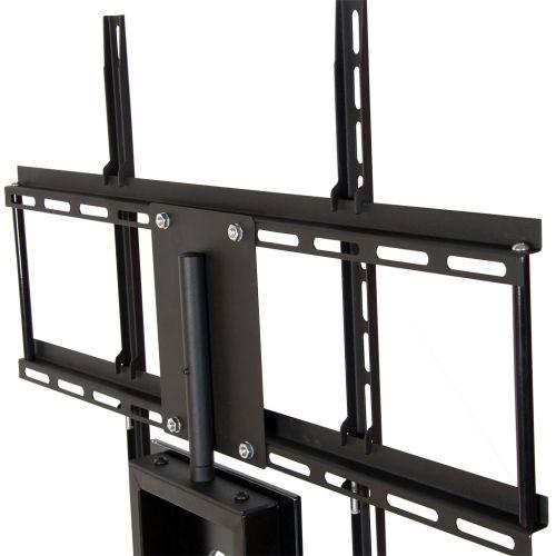 Držák na velké TV s televizním stolkem