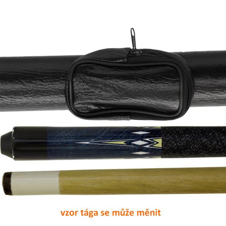 Dvoudílné tágo na kulečník + pouzdro 146 cm