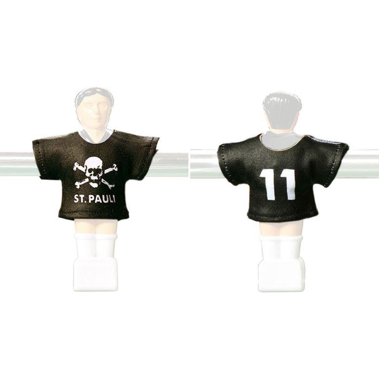 Náhradní fotbalové dresy St Pauli 11 ks
