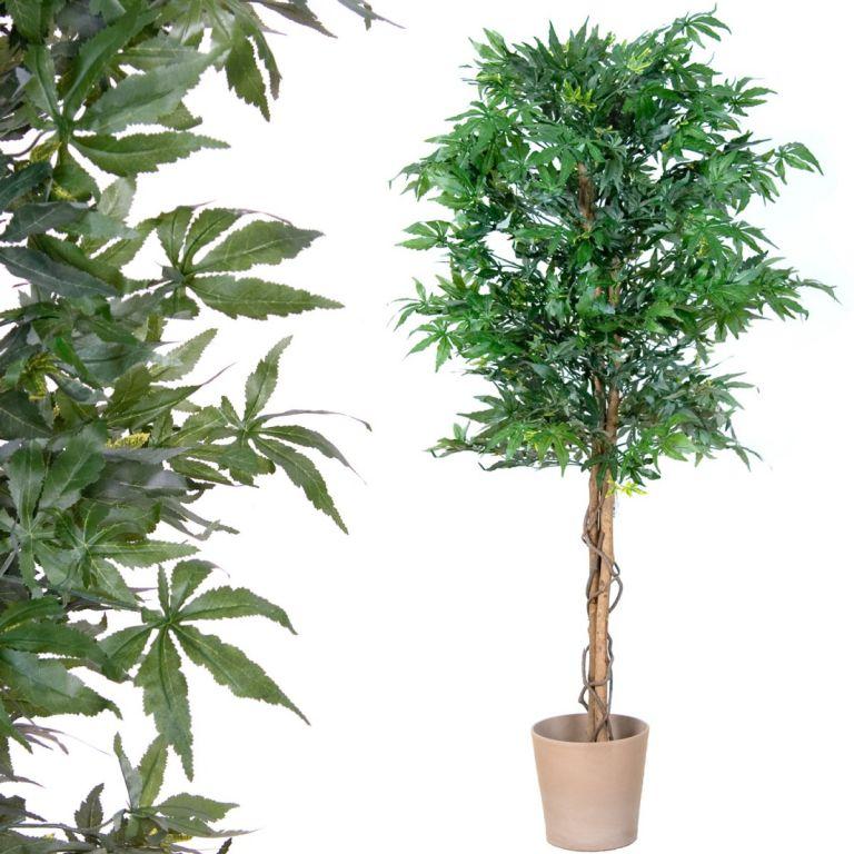 Umělá rostlina strom – konopí – 150 cm