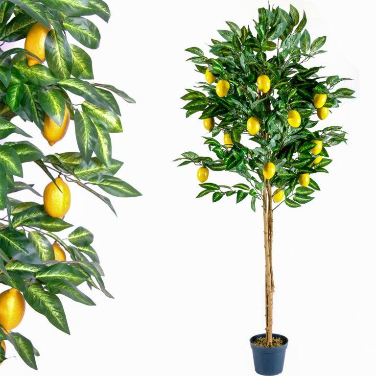 Umělá květina strom – citronovník – 184 cm