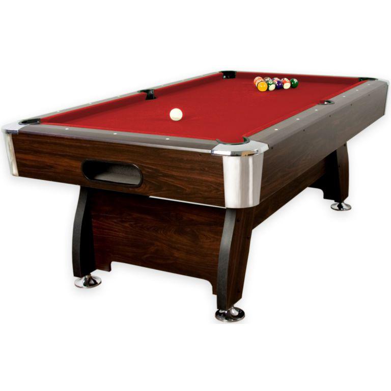 Kulečníkový stůl pool billiard kulečník 7ft - s vybavením