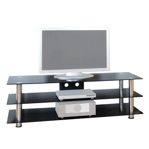Televizní skleněný stolek NOBLE designe